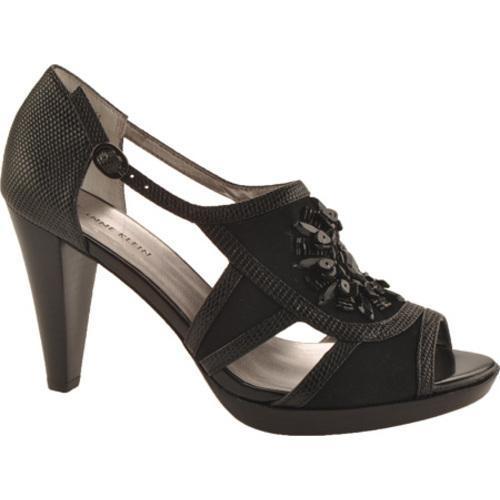 Women's Anne Klein Eureka 3 Black Fabric