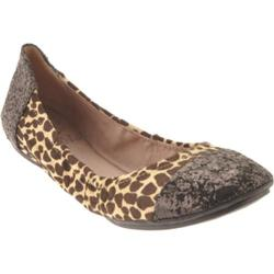 Women's Vince Camuto Ernest White Spotted Snow Cheetah Pony/Large Glitter