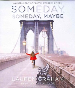 Someday, Someday, Maybe: Includes a Pdf of Filofax Datebook Entries (CD-Audio)