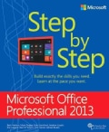 Microsoft Office Professional 2013: Step by Step (Paperback)