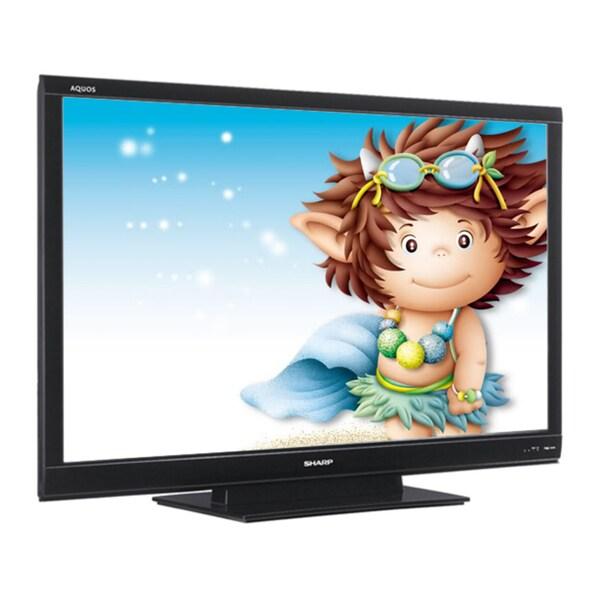 "Sharp AQUOS LC-60LE640U 60"" Refurbished 1080p LED-LCD TV - 16:9 - HDTV 1080p - 12"