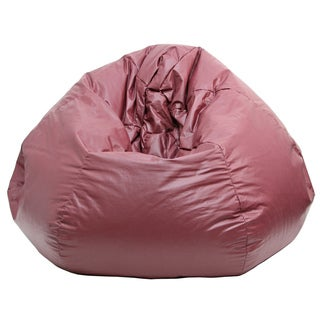 Gold Medal Wine Leather Look Vinyl Extra Large Bean Bag