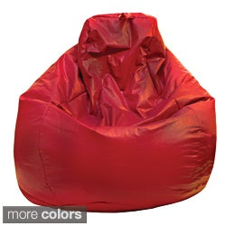 Gold Medal Large Vinyl Teardrop Bean Bag