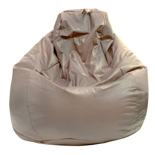 Gold Medal Leather Look Large Tear Drop Bean Bag