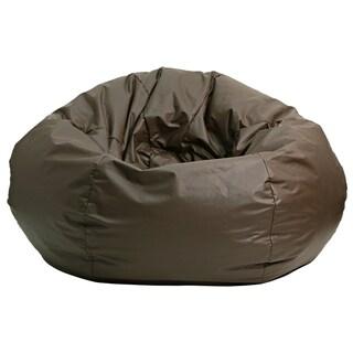Gold Medal Walnut Leather Look Medium/ Tween Bean Bag