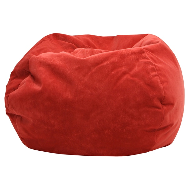 Gold Medal Flame Red Medium Bean Bag