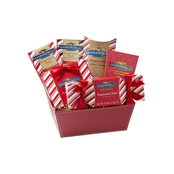Ghirardelli Chocolate Company Peppermint Pleasures Gift Box
