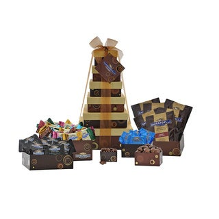 Glorious Ghirardelli Chocolate 6-Tier Tower