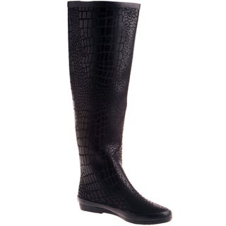 Henry Ferrera Women's Knee High Rain boot