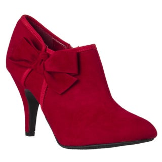 Riverberry Women's 'Tulip' Bow-detail Booties