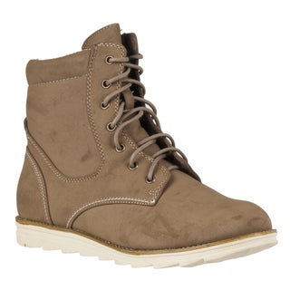 Riverberry Women's 'Olympia' Lace-up Boots