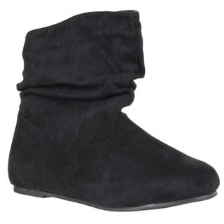 Riverberry Women's 'Rebeca' Mid-calf Slouchy Boots