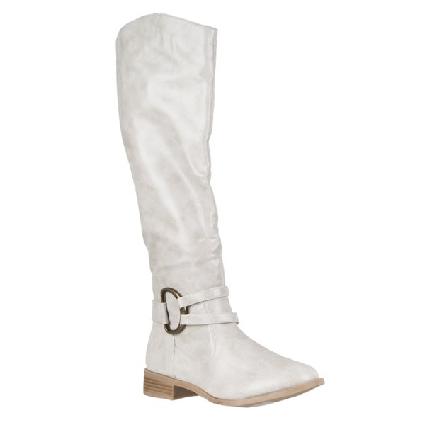 Riverberry Women's 'Asiana' Round-toe Knee-high Boots