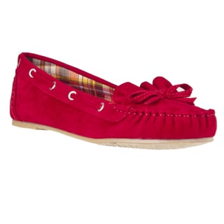 Riverberry Women's 'Friends' Microsuede Moccasins