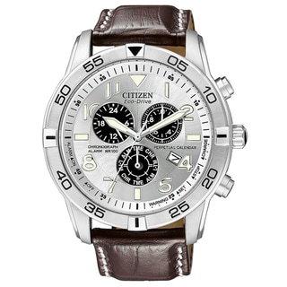 Citizen Men's BL5470-06A Eco-Drive Stainless Steel Chronograph Watch