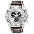 Citizen Men's Eco-Drive Stainless Steel Chronograph Watch
