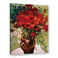 VanGogh 'Dasies and Poppies' Wrapped Canvas