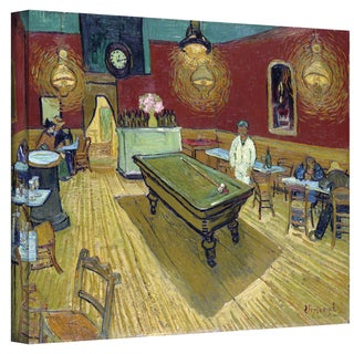 Van Gogh 'The Night Cafe in the Place Lamartine in Arles' Wrapped Canvas