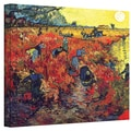 Van Gogh 'Red Vineyard at Arles' Wrapped Canvas