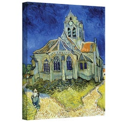 VanGogh 'The Church at Auvers' Wrapped Canvas Art