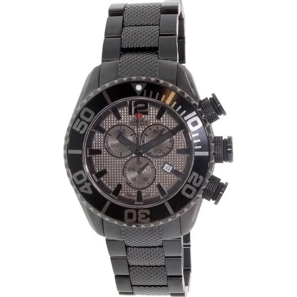 Swiss Precimax Man's Deep Blue Pro II Chronograph Watch