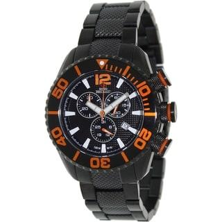 Swiss Precimax Men's Deep Blue Pro II Chronograph Watch with Sapphimax Crystal