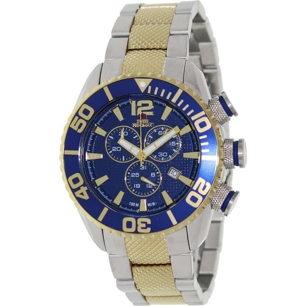 Swiss Precimax Men's Deep Blue Pro II Chronograph Watch