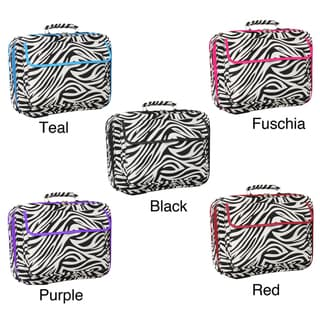 World Traveler Zebra Designer Print 17-inch Laptop Computer Case
