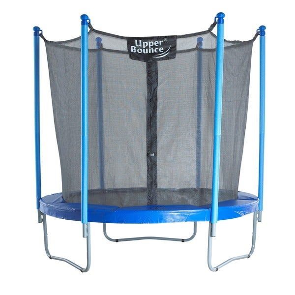 Trampoline and Enclosure Set with New Upper Bounce Easy Assemble Feature