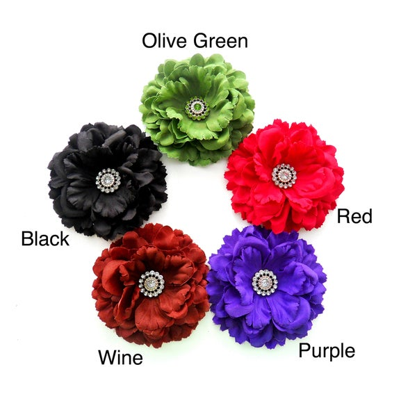 Boutique Flower Hair Clip/ Brooch