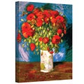 VanGogh 'Poppies' Wrapped Canvas Art