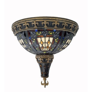 Tiffany Style Roman Mosaic Wall Lamp