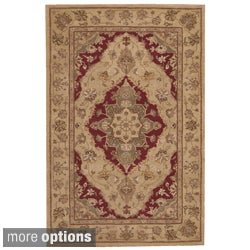 Nourison Hand-tufted Heritage Hall Beige/Lacquer Rug