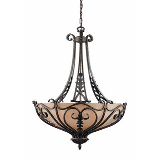 Passion 6 Light Bronze Oro Pendant