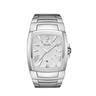 Bulova Men's 'Bracelet' Stainless Steel Quartz Watch