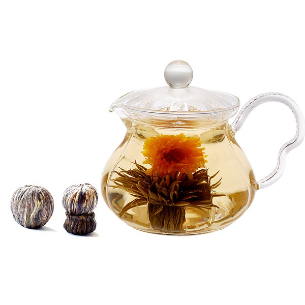 Tea Beyond Tea Pot Fairy Duo Blooming Tea Gift Set
