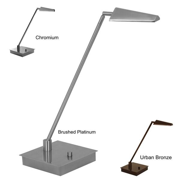 Mondoluz 'Ronin' 1-light Square Base Table Lamp