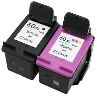 HP 60XL Black/Color Ink Cartridges Set (Remanufactured)