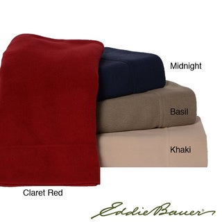 Eddie Bauer Microfleece Sheet Sets