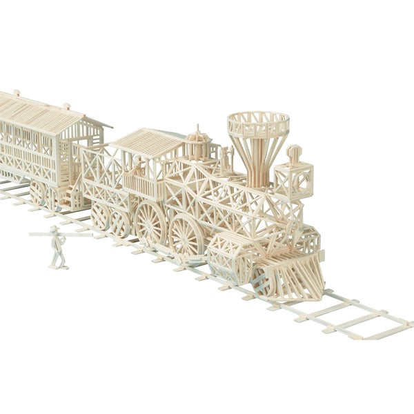 Matchitecture Gold Rush Train