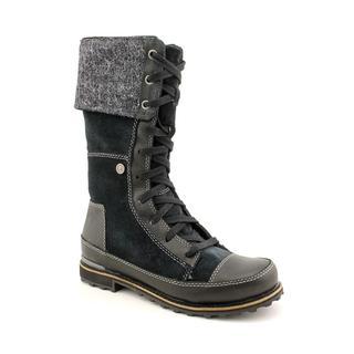 North Face Women's 'Snowtropolis Lace' Full-Grain Leather Boots