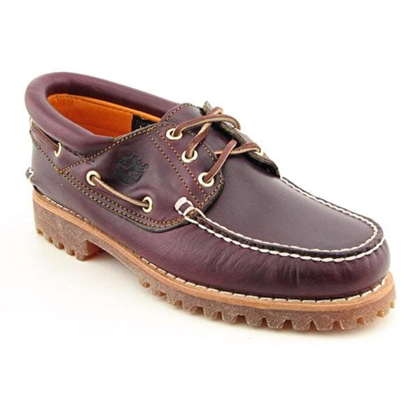 Timberland Men's 'Trad HS 3 Eye' Full-Grain Leather Casual Shoes