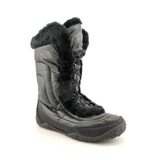 North Face Women's 'Nuptse Fur IV' Synthetic Boots