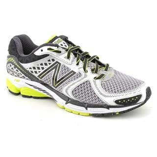 New Balance Men's White 'M1260v2' Mesh Athletic Shoe