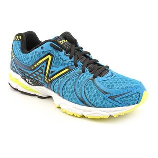 New Balance Men's 'M870v2' Blue Synthetic Athletic Shoe