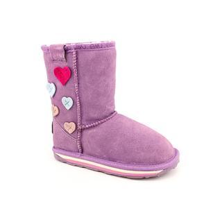 Emu Australia Girl's 'Karama' Regular Suede Boots