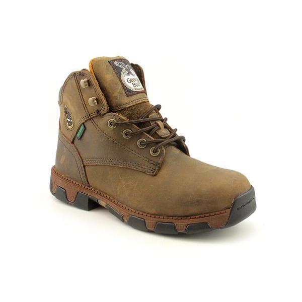 "Georgia Men's 'Mens 6""' Full-Grain Leather Boots"