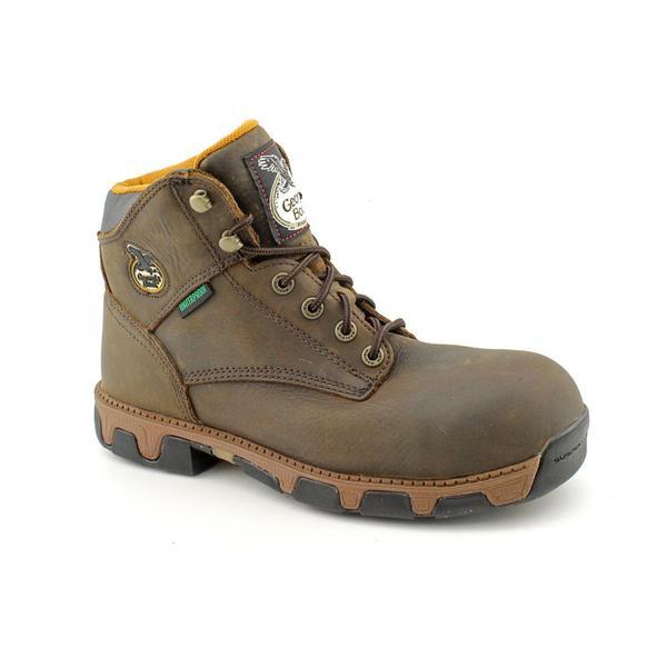 "Georgia Men's 'G6683 Men's 6"" CT' Full-Grain Leather Boots"
