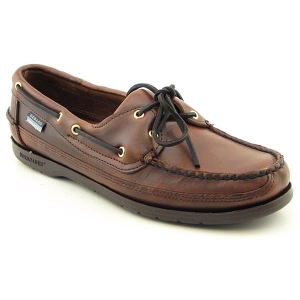 Sebago Men's 'Schooner' Leather Casual Shoes