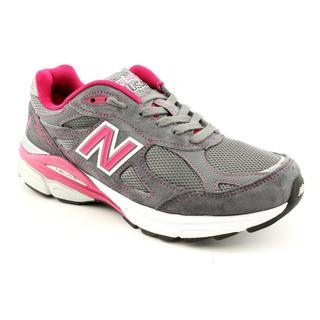 New Balance Women's 'W990v3 Heritage' Regular Suede Athletic Shoe